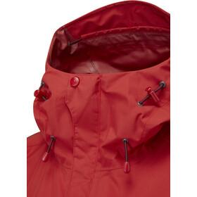 Rab Downpour Plus Jacket Women ascent red